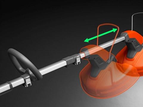 Регулируемый телескопический вал